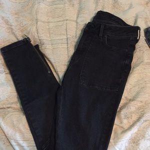 All Saints Biker Skinny Jeans